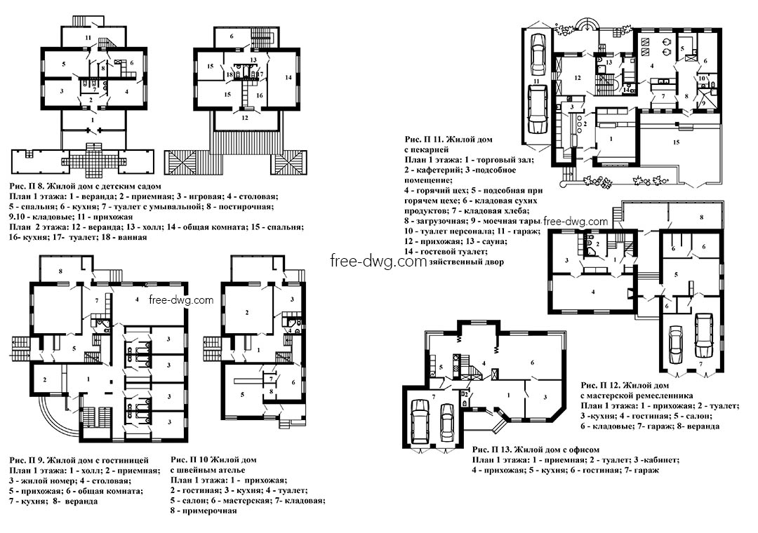 Многофункциональные жилые дома