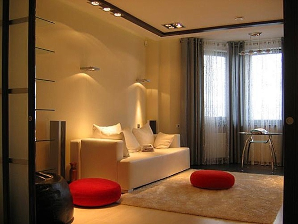 One-Roomed Apartment Design − Ideas with Photos